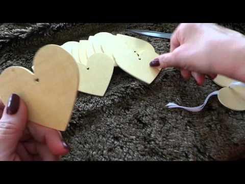 50 Wooden Heart Shape Craft Tags by Kurtzy available on Amazon