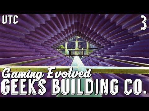 Insane Structures Plus (S+) Build :: Ark Building Co. Offices :: Gaming Evolved Ark  w/ UTC :: Ep. 3