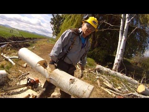 Build a Strongman Farmers Walk Log - DIY Dudes
