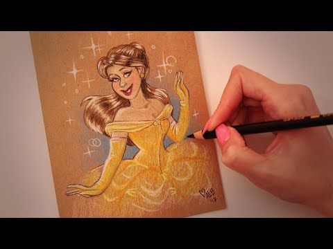 Greeting Card Thursday: Belle from Beauty and the Beast (ASMR softly spoken)