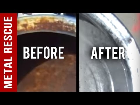 How To Remove Rust From A Chrome Hubcap
