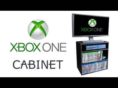 XBOX ONE GAME AND CONSOLE STORAGE CABINET