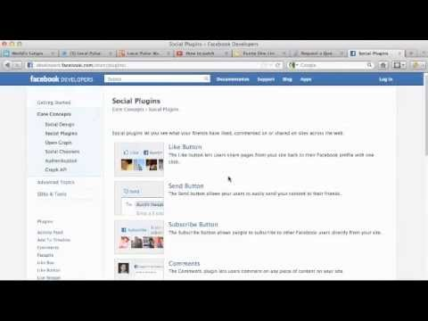Add Facebook Like Button To Website: Facebook Like Button How To