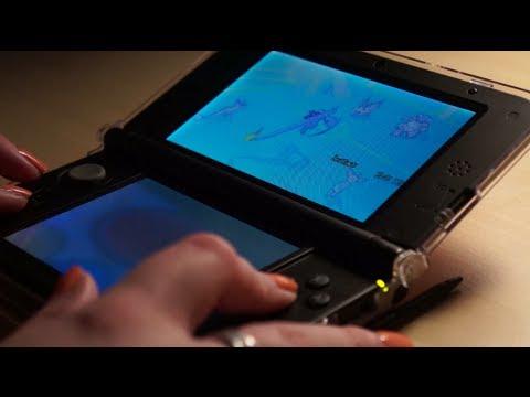 Binaural 3D ASMR. Playing 3DS (Touchscreen & Button Sounds)