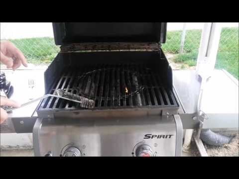 How to clean porcelain coated grill grates