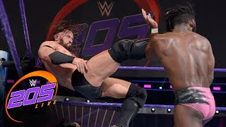 Rich Swann vs. Neville - Non-Title Match: WWE 205 Live, Dec. 27, 2016
