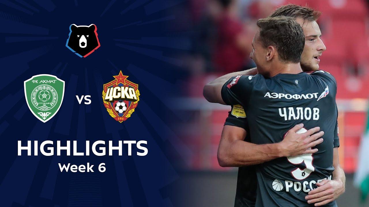 Highlights Akhmat vs CSKA (0-3) | RPL 2020/21