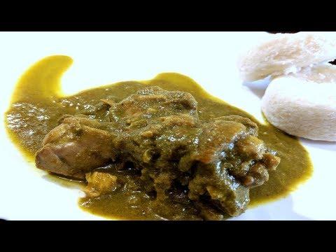 Chicken Green Curry | Chicken Green Masala Curry Mangalorean Recipe