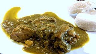 Chicken Green Curry   Chicken Green Masala Curry Mangalorean Recipe