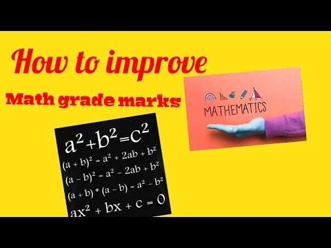 HOW TO GET BETTER AT MATH// 10 tips to improve your grades|