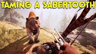 TAMING A SABERTOOTH! - Far Cry Primal