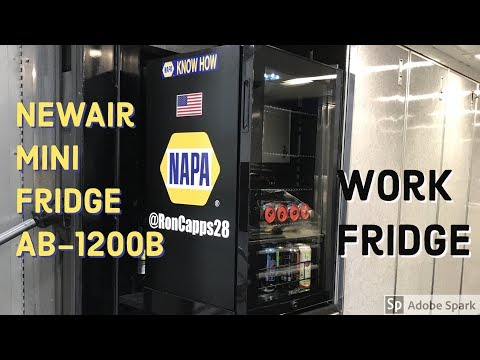 NewAir MiniFridge Review!!! Great addition to any garage!