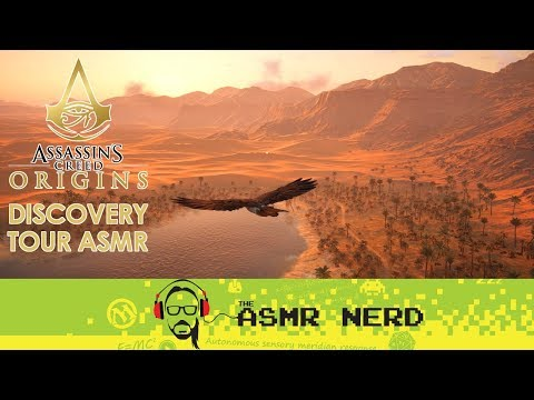 ASMR Whisper | Assassin's Creed Origins | Ancient Egypt Discovery Tour | Siwa & Mummies