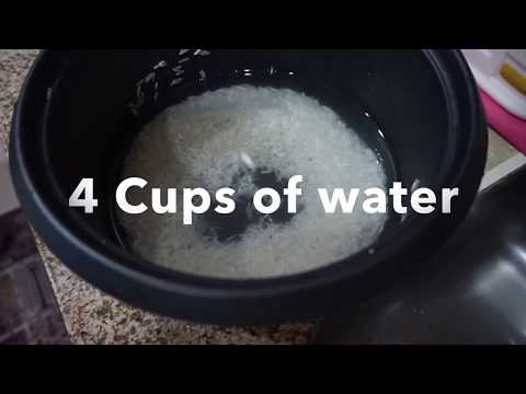 COOKING BASMATI RICE IN RICE COOKER