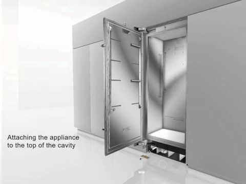 Thermador Refrigerator Installation