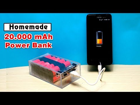 How to Make a 20,000 mAh Power Bank from Scrap Laptop Battery