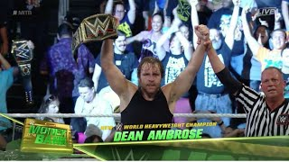OMG!! DEAN AMBROSE NEW WWE CHAMPION