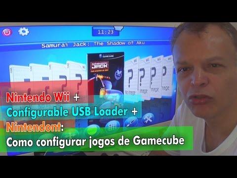 Nintendo Wii + Configurable USB Loader + Nintendont: Como configurar jogos de Gamecube