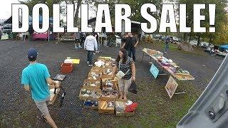 Flea Market Selling Vlog - The Dollar Days are Back
