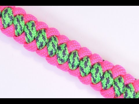 How to Make 4 Cord Braid Paracord Bracelet - Bored Paracord
