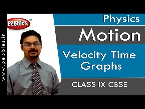 Velocity Time Graphs : Motion | Physics | Class 9 | CBSE