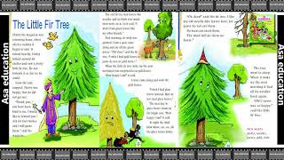 Ch 2 The Little Fir Tree (English - Marigold, Grade 4, CBSE) Story in Easy Hindi/English