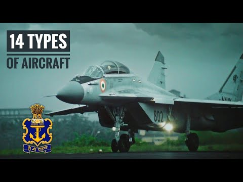 14 Types Of Indian Navy Aircrafts - List Of Aircrafts Used By Indian Navy (Hindi)