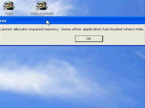 How to: Fix the Halo Error