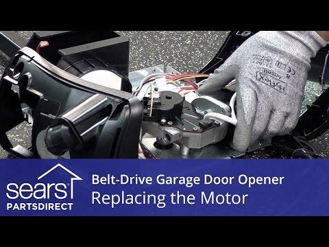 Replacing the Motor on a Belt-Drive Garage Door Opener