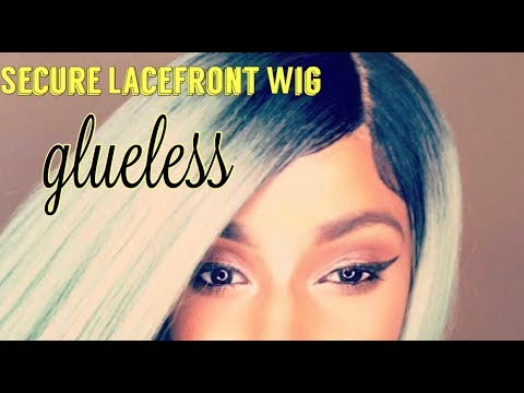 Secure Your Lacefront Wig (Glueless)- This wig ain't moving nowhere!!!