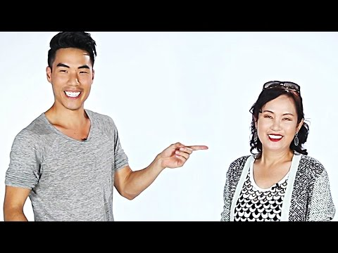 Asian Moms And Their Kids Imitate