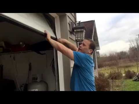 Garage Door Seal Anti Mouse Hack