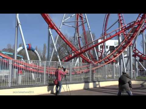 G Force, Drayton Manor Theme Park.