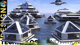 10 AWESOME HOUSEBOATS AND FUTURE FLOATING HOMES