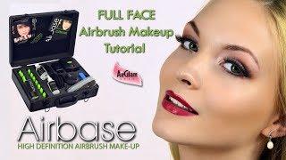 Airbase Full Face Airbrush Makeup Tutorial: Bridal Glam / Trucco Aerografo Con Airbase