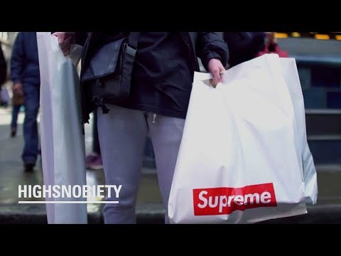 How much did London spend at the Supreme drop?