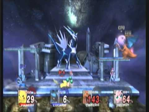 SSBB Match: Pokémon Party at Spear Pillar