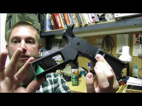 Turning your aluminum gun parts black (anodized black color)