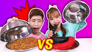 [Real vs  Jelly]和薑一一起 軟糖食物vs真的食物 Gummy food or Real food 隨機抽遊戲服不服由你!-基尼