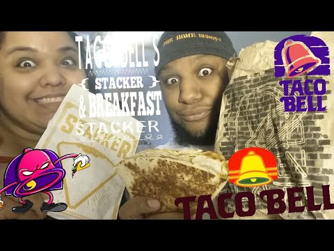 TACO BELL'S NEW STACKER AND BREAKFAST STACKER