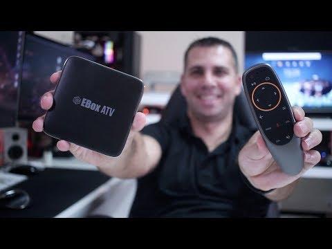 ANDROID TV OS + NETFLIX HD | EBOX ATV Box