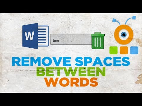 How to Remove Spaces Between Words in Word 2019   How to Delete Spaces Between Words in Word 2019