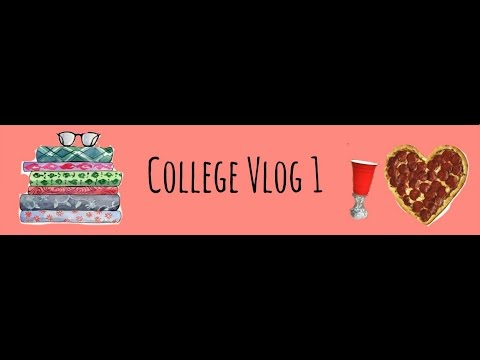 College Vlog 1 - Rush, Class, Long Distance Relationship, and MORE