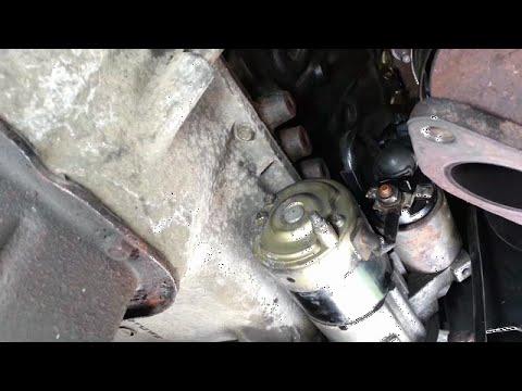 Starter motor replacement - 2004 Hyundai Santa Fe 3.5L