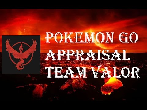 Pokemon Go - Appraisal Feature IV Checker - Team Valor Candela - Discussion Overview Explained