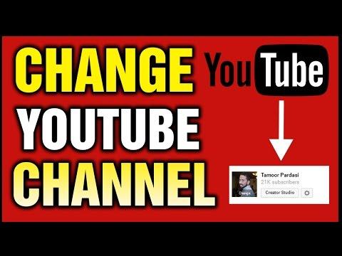 How To Change Youtube Channel Name Urdu/Hindi Tutorial
