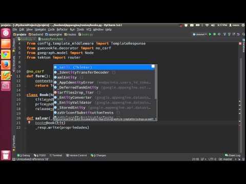 Aula 14.1 - CRUD - Create - App Engine e Python