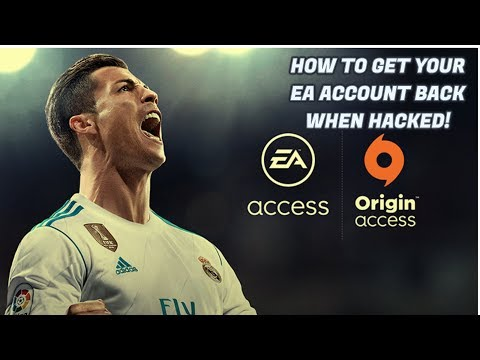 How to get your EA account back when hacked | FIFA 18 ULTIMATE TEAM