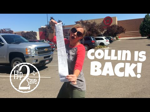 COLLIN IS BACK! This Week's Amazing TARGET Deals! | Deal Shopping with Collin