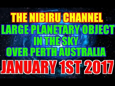 LARGE PLANETARY OBJECT OVER PERTH AUSTRALIA